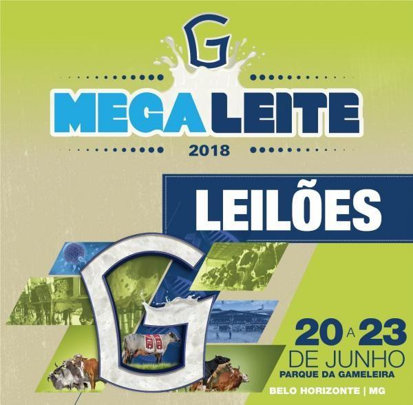 MEGALEITE 2018 terá leilões com oferta de Girolando e Gir Leiteiro