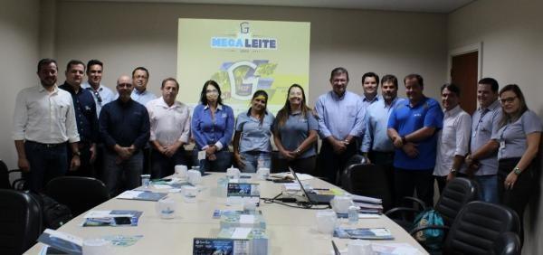 Girolando e empresas parceiras definem ações para Megaleite 2018