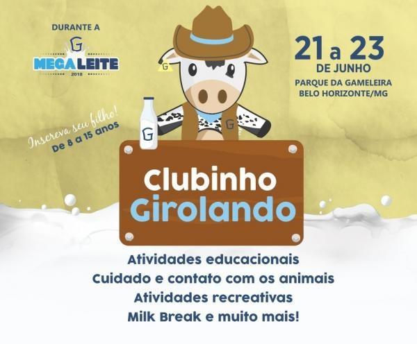 Clubinho Girolando da Megaleite 2018 está com inscrições abertas