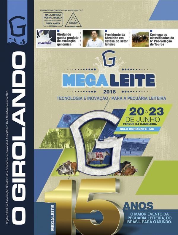 Versão online da nova edição da revista O Girolando já está disponível