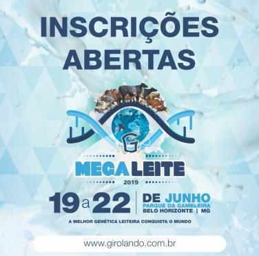 Inscrições para a Megaleite 2019 começam nesta quinta-feira