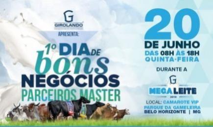1° Dia de Bons Negócios Parceiros Master terá ofertas especiais de produtos e serviços para os participantes da Megaleite 2019