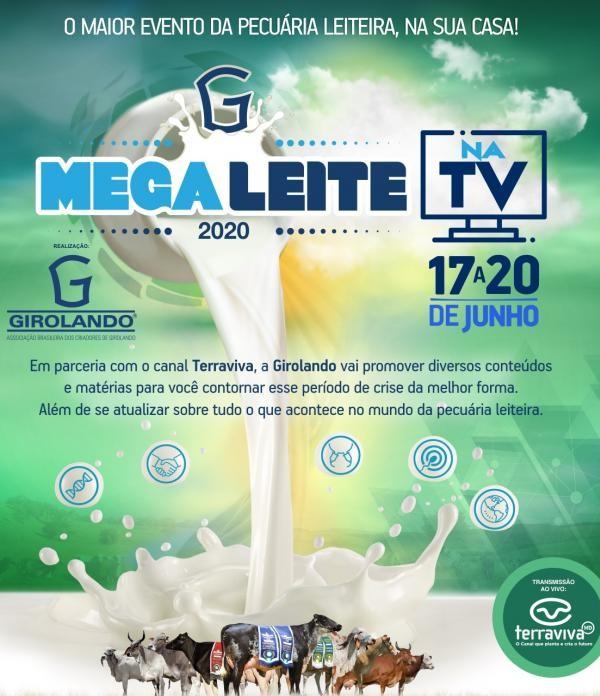 Megaleite na TV terá debate com presença da ministra Tereza Cristina